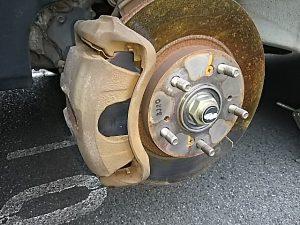 タイヤ外し